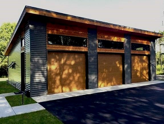 Top 60 Best Detached Garage Ideas Extra Storage Designs In 2020 Prefab Garage With Apartment Detached Garage Designs Modern Garage