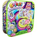 Check out this product http://wkup.co/cash_back/MTIwMDk3MjUwNQ==/MTA1ODY2Mg==Make your whole world Glow with Gelarti Glow in the Dark Scene Studio! Paint, peel and decorate with glow paints to bring your stickers to life! The Glow Scene Studio makes painting your stickers easy.