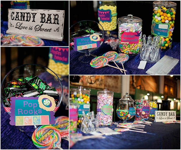Diy candy bar life is sweet must do and cute for Food bar in cahaba heights