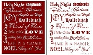 free 5x7 Christmas art printable or vinyl for larger sizes for sale