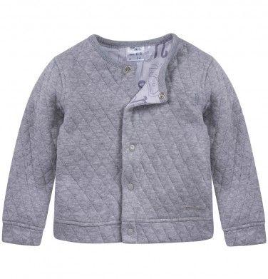 Dwustronna, pikowana bluza dla niemowlaka, kolekcja: Mini Endo paski