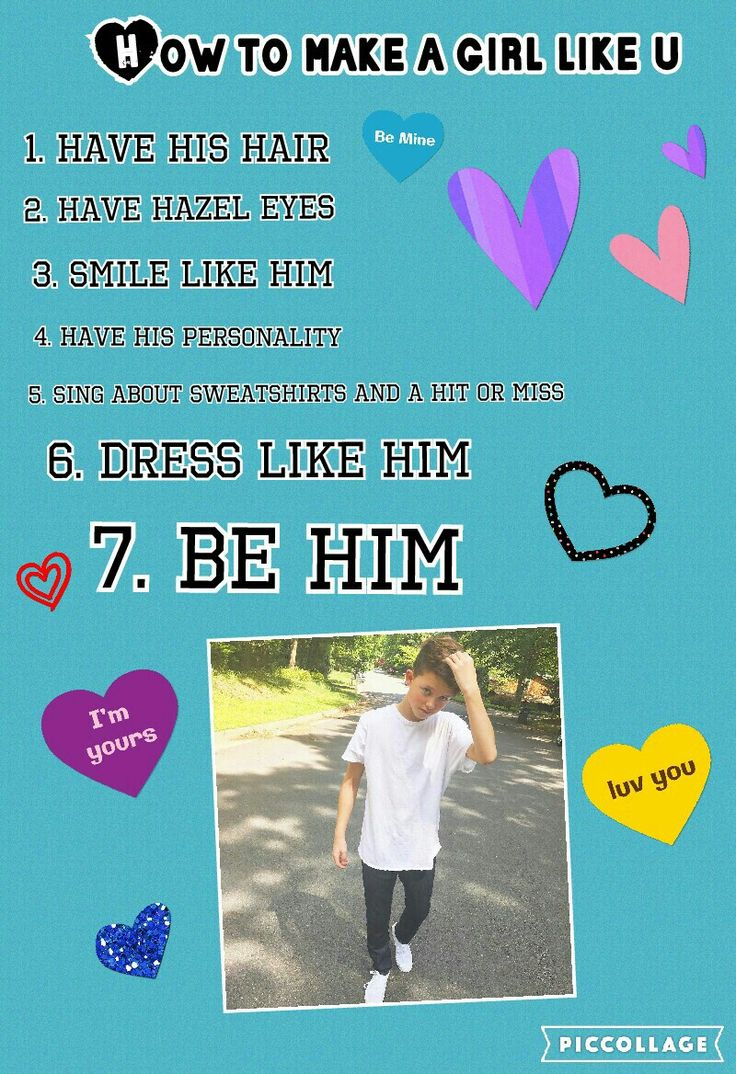 How to make a girl like u be like my man Jacob Sartorius ♡