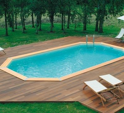 17 melhores ideias sobre piscine enterr e no pinterest piscine bois enterr - Mini piscines enterrees ...