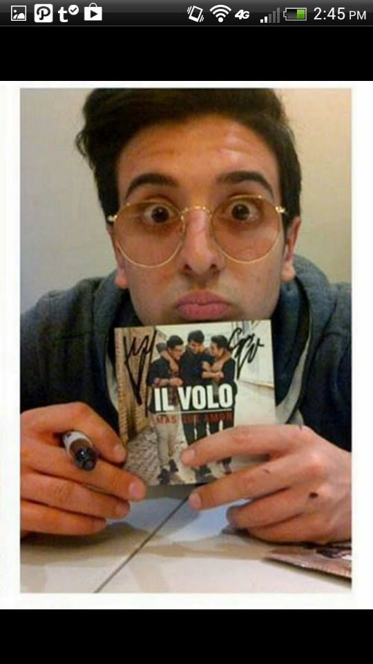 "Piero signing booklets, ""WE ARE LOVE!"" 2013"