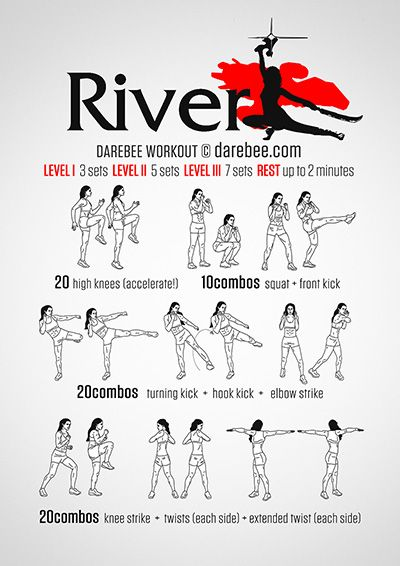 River Workout                                                       …