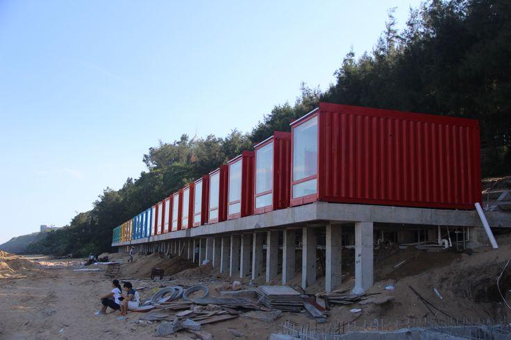 Zhangzhou volcanic island love nest container hotel