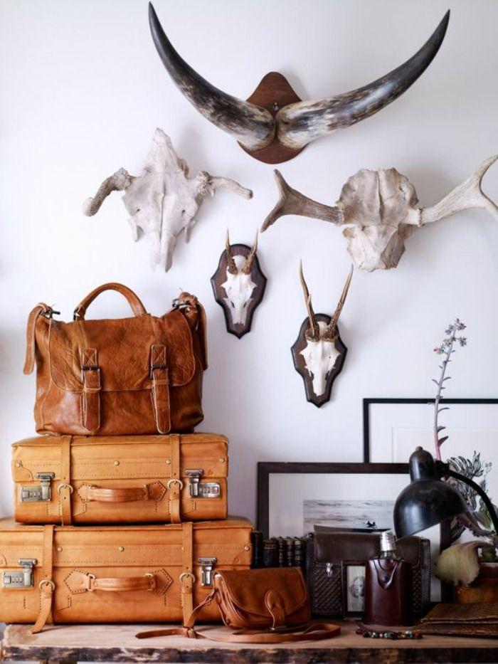 Animal Skulls Interior Design | We Heart Home
