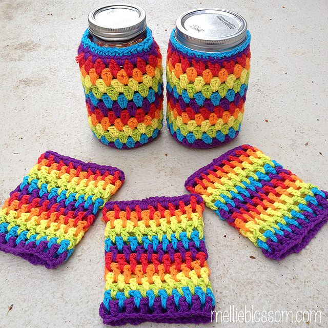 169 Best Coffee Coozi Images On Pinterest Coffee Cup Cozy Crochet