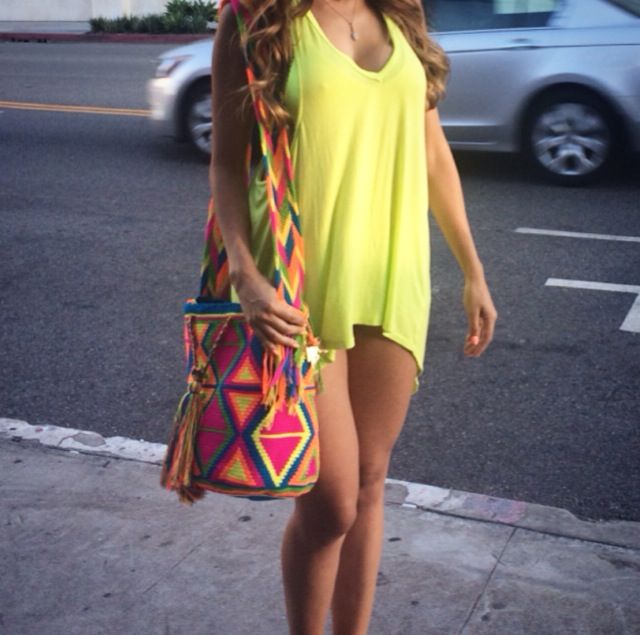 "Miami Beach is where neon goes to die...<3 ""Miami"" Mochila Bag"