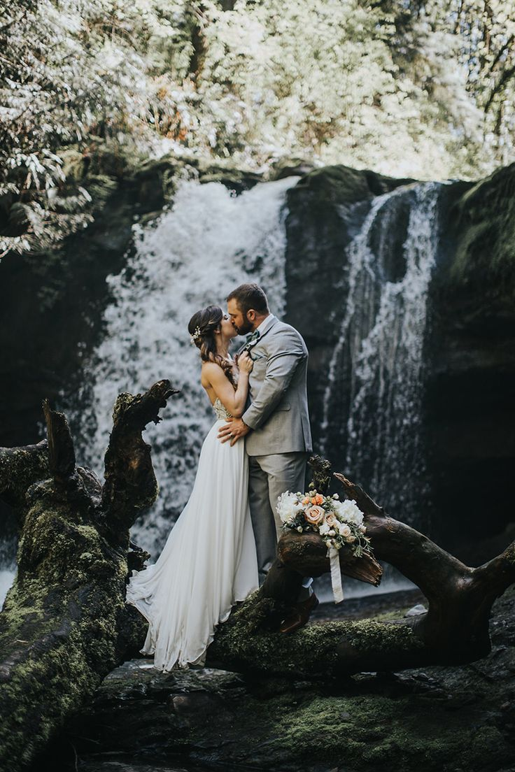 Best 25 Waterfall Wedding Ideas On Pinterest Forest