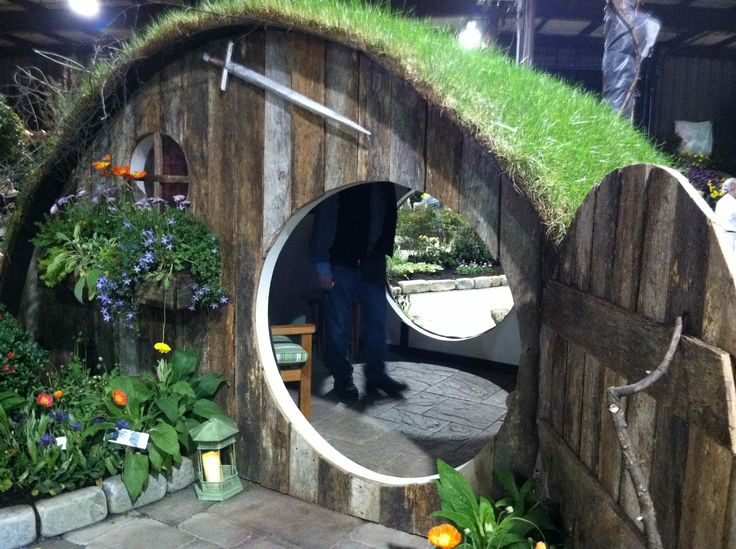 Hobbit House--build at the farm for grandkids