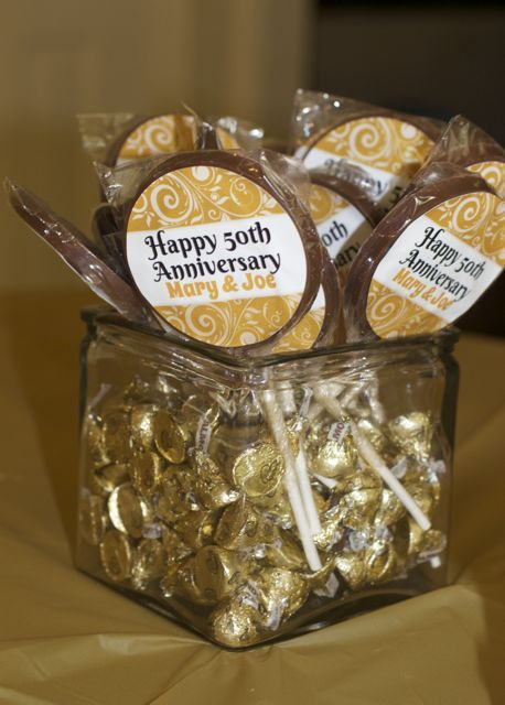 50th Wedding Anniversary Decorations - Close To Home