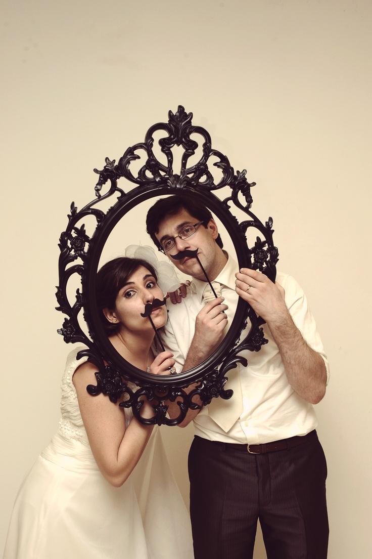 Bride and Groom Photo Frame | Moldura para Noivos