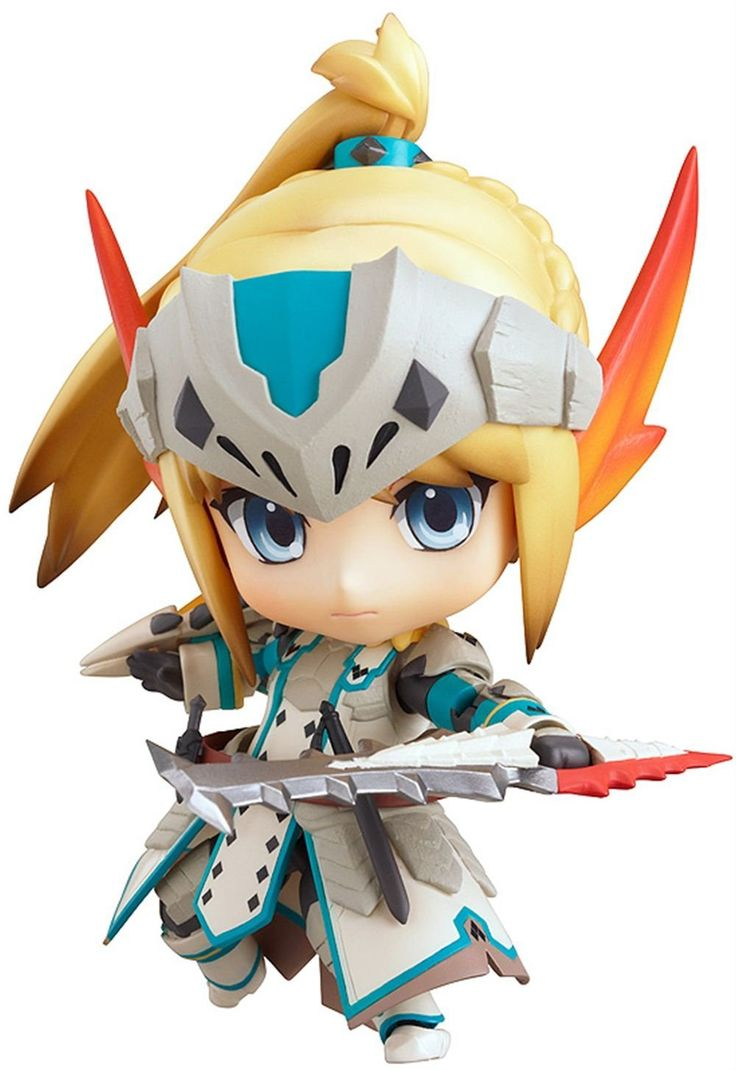 Anime Characters Monster Hunter World : Nendoroid monster hunter girl awesome just absolutely