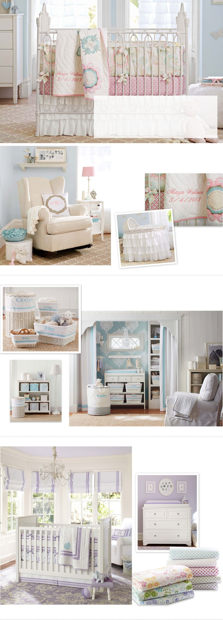 Pottery barn kids sleigh crib - Pottery Barn Kids Shares Nursery Ideas That Are Creative And Charming Find Baby Room Decorating Ideas And Design You Re A Girl S Nursery Room