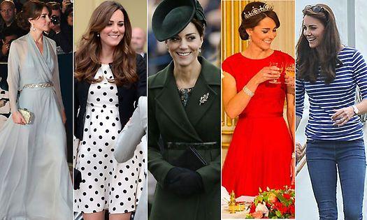 La Duquesa de Cambridge en todas sus versiones