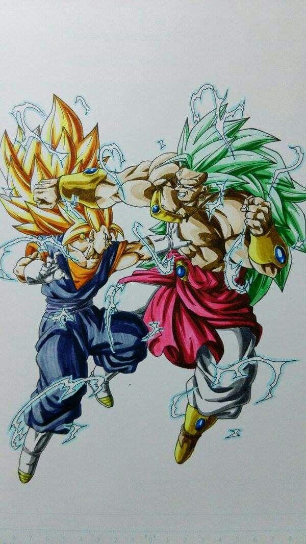 Goku Ssj3 Brolissj3 Dibujos Personajes De Dragon Ball Dibujos