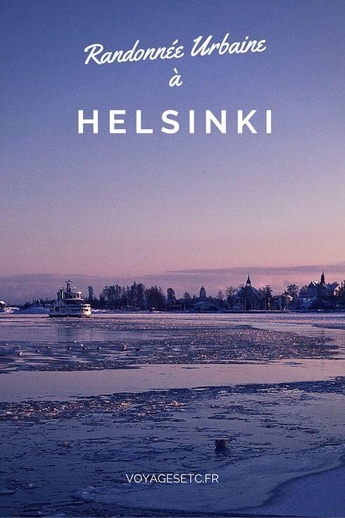 Helsinki est une ville idéale pour faire une randonnée urbaine. En janvier il fait un peu froid mais en s'arrêtant dans des musées et des cafés ça se gère.