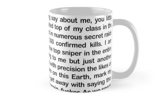 Navy Seal Copypasta' Mug by giovanniiiii   Niche World Shares
