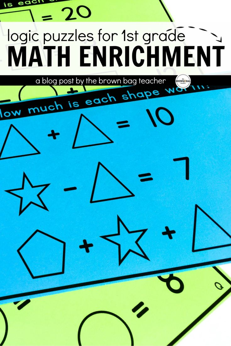 Worksheet Math Enrichment 1000 ideas about math enrichment on pinterest test prep 4th love these logic puzzles and brain teasers for perfect math