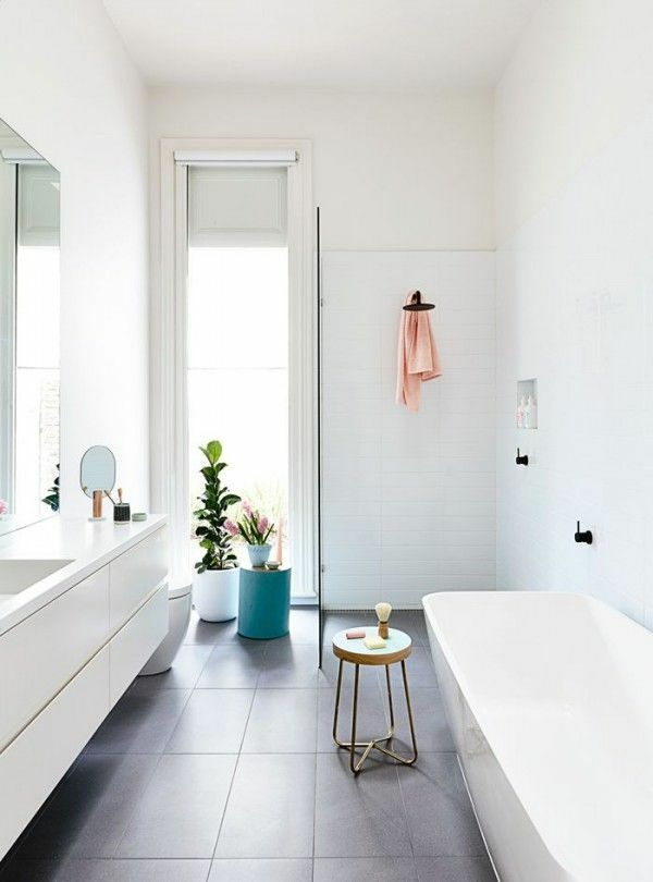 Trend Image result for narrow bathroom ideas