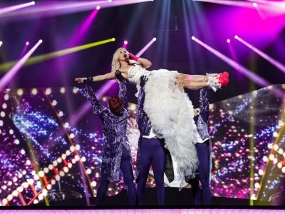 Finland is represented by Krista Seigrfids with 'Marry Me'