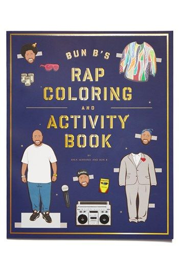 someone in my life needs this. Bun B's Rap Coloring and Activity Book | Nordstrom