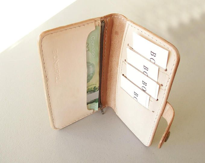 Premium Leather Womens Wallet, Hand Stitched Wallet, Lifetime Wallet, Long Wallet, Minimalist Wallet, Handmade in Canada, Gift for Her
