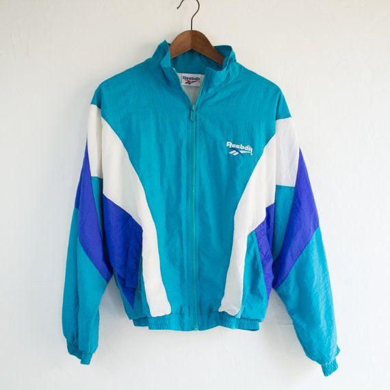 reebok vintage windbreaker. reebok jacket vintage purple windbreaker