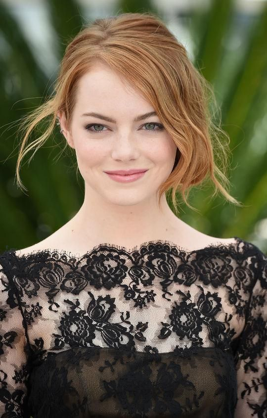 Best beauty looks of the week: Emma Stone's glowing makeup and loose updo at Cannes Film Festival