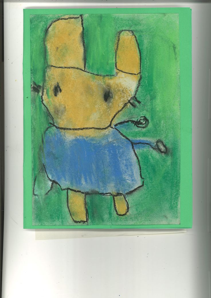 Peter Rabbit in pastel by Lucus