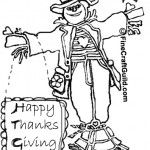 Free Thanksgiving Coloring Pages to Print: Mandala, Scarecrow and more :: fineCraftGuild.com