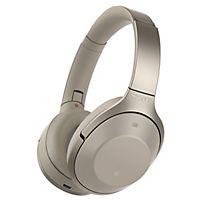 Sony MDR-1000X trådløse around-ear-hodetelefoner (krem) - Headset og høyttalere -     Elkjøp