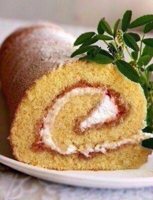 Рулет или рецепт очень удачного бисквита Пышный, мягкий, легко сворачивается (как в теплом, так и в холодном виде), не ... Кулинарная книга - Мой Мир@Mail.ru