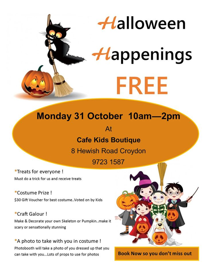 Halloween Party for Kids FREE