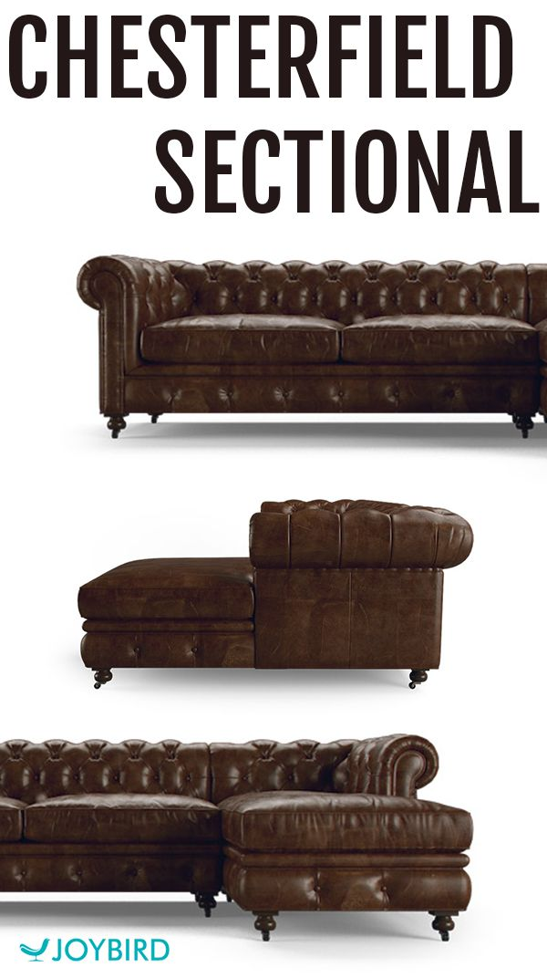 Teeming with the elegant hallmarks of the classic Chesterfield design, this sectional is a paragon of vintage style that never skimps on comfort. For a limited-time only, get this and all sofas, seats and bedroom furniture for 20% off. Sale ends 11/13. Shop today and enjoy free returns, 365-day home trial & a lifetime warranty!