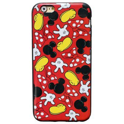 """Купить резиновый чехол для iphone 6 Disney """"Minnie Mouse и Mickey Mouse"""""""
