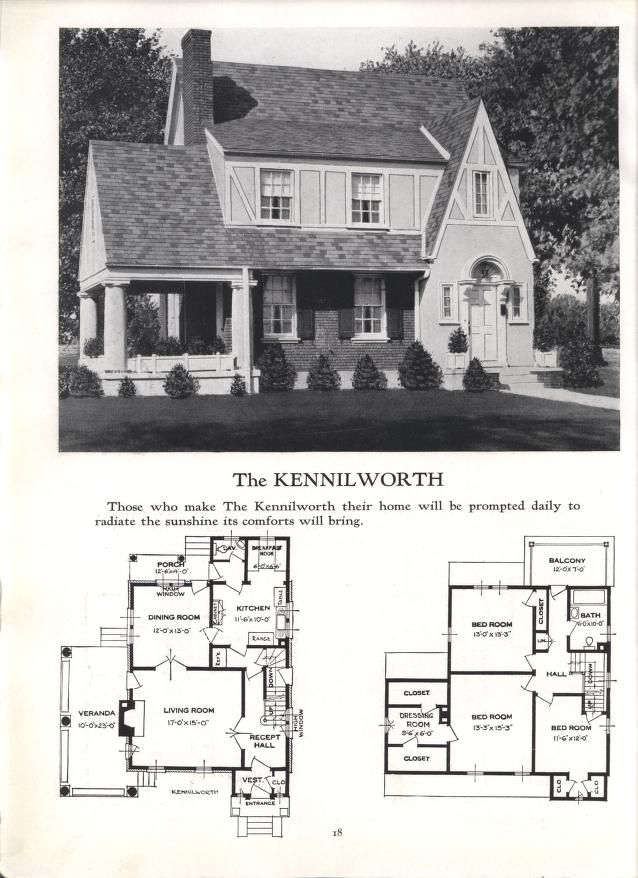 Better Homes At Lower Cost No 17 Historical House Plans Vintage House Plans Farmhouse Floor Plans