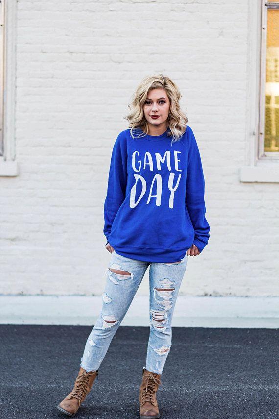 quality design cdf54 d7fa3 Game Day Sweatshirt / Kentucky Sweatshirt / Duke / Kansas ...
