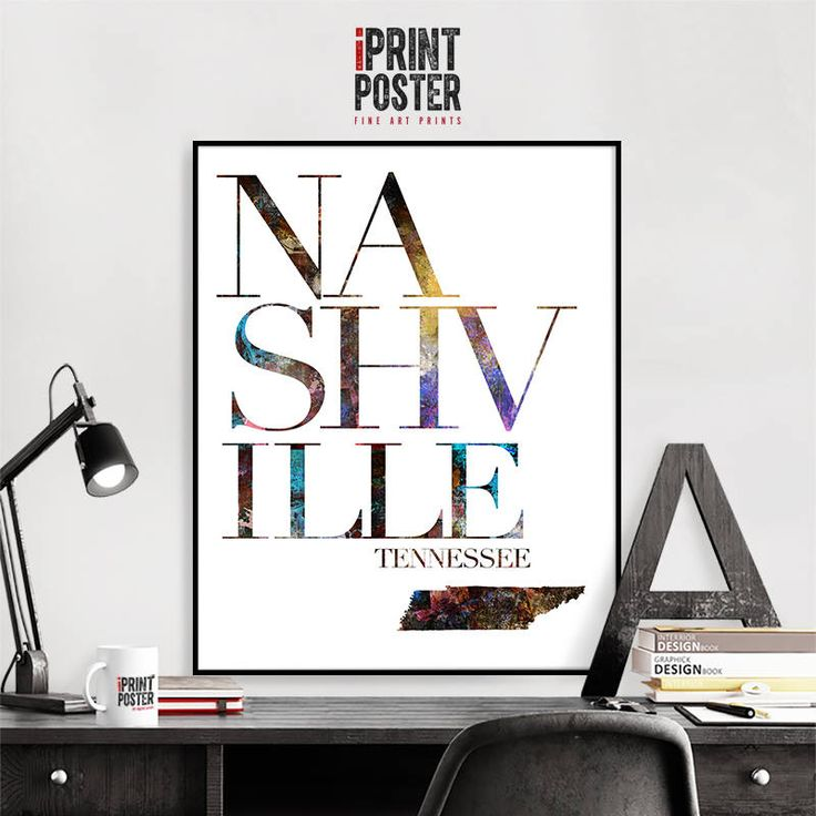 Excited to share the latest addition to my #etsy shop: Nashville map poster, Nashville Tennessee wall art print, Travel decor, Abstract typography poster, Wall decor, Travel gift, iPrintPoster #art #print #giclee #travelposter #homedecor #cityposter #wallartprints #travelgift #walldecor