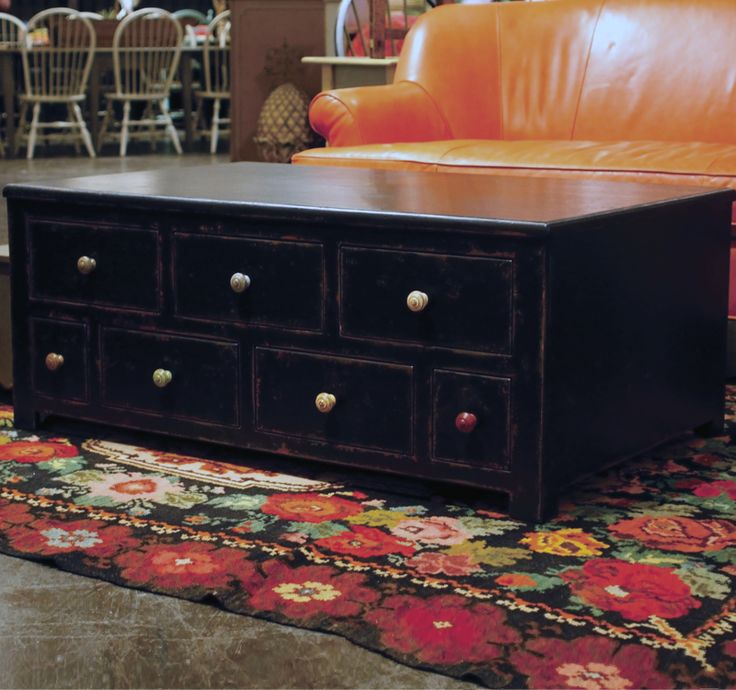 Coffee Table With Fourteen Drawers  Eddy West. Furniture ...