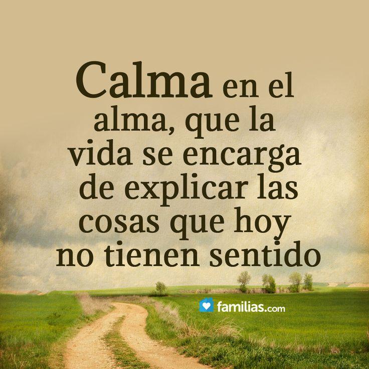 Calma...