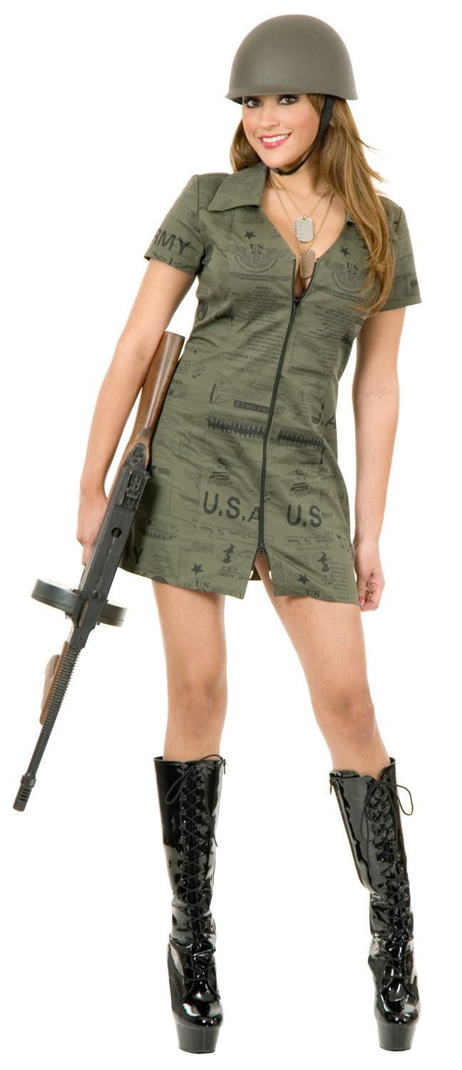 Best 25 Army Girl Costumes Ideas On Pinterest  Army -7662