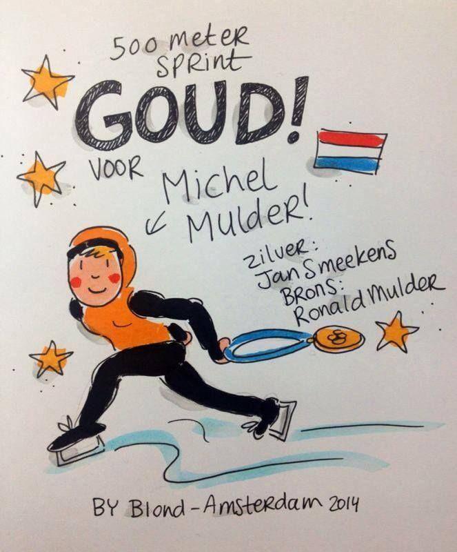 Olympische Spelen - Blond Amsterdam