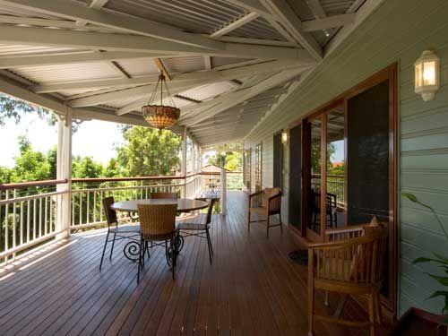 Outdoor Entertaining Area: Burdekin Garth Chapman Traditional Queenslander