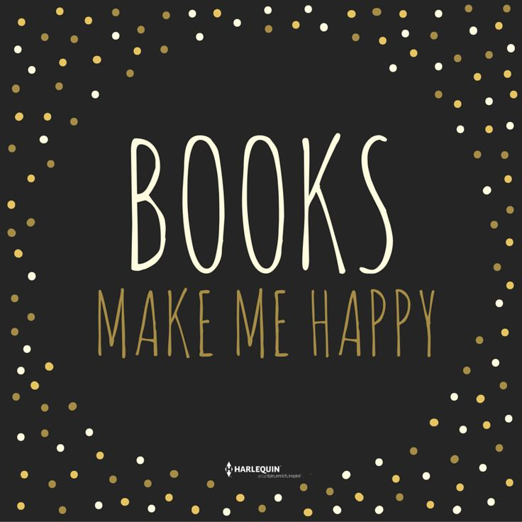 Books make me happy! :D