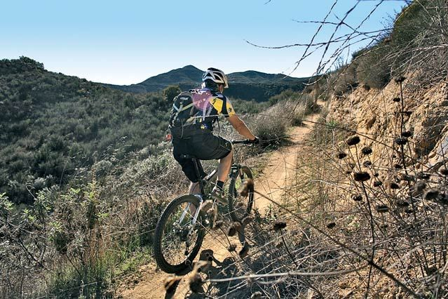 The Best Bike-Friendly National Parks. (Pictured: Santa Monica Mountains National Recreation Area, California.)