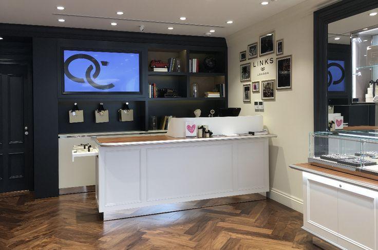 Links of London   Κοσμηματοπωλείο   Λευκωσία   iidsk     Interior Design & Construction