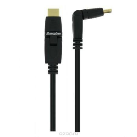 Energizer LCAECRHAA15 кабель HDMI  — 600 руб. —  Высокоскоростной поворотный HDMI кабель Energizer LCAECRHAA15 c Ethernet каналом. С его помощью вы можете подключить DVD/Blu-ray плееры, приемники спутникового/кабельного телевидения, игровые консоли к телевизору с поддержкой HD контента и наслаждаться изображением высокой четкости. Кабель также поддерживает передачу 3D изображения. Позолоченные контакты 24К Защитная экранировка, усиленная алюминием Поддержка HDTV 1920x1080p, 3D Ready, 4K…