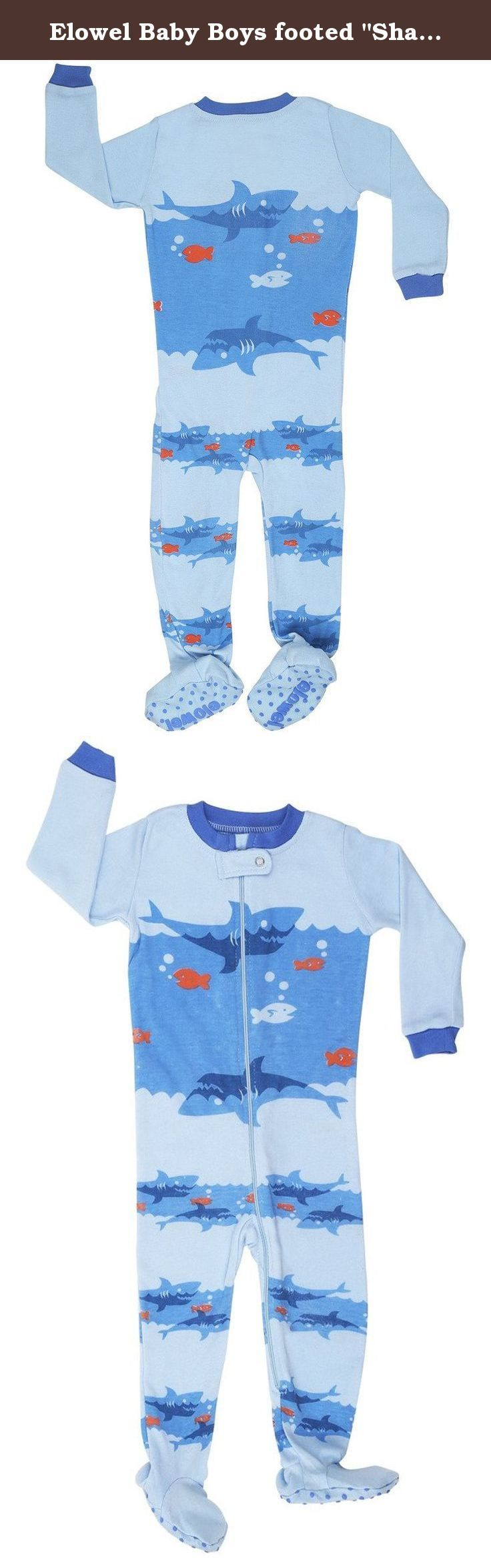 best ideas about boys footed pajamas baby boy elowel baby boys footed shark pajama sleeper 100% cotton 12 18 months